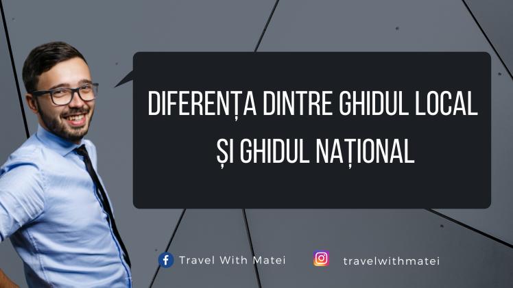 Diferența dintre ghidul local și ghidul național