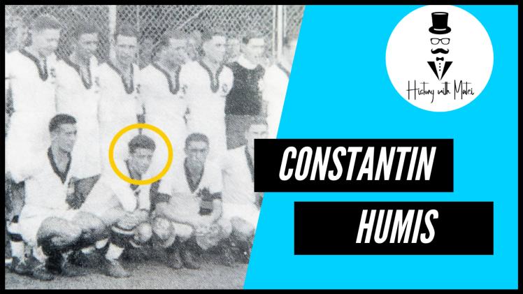 Constantin Humis Primul jucător străin care a jucat vreodată pentru naționala României